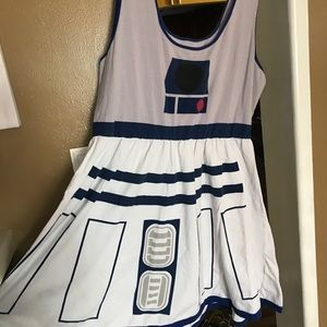 Star Wars Dresses | Plus Size R2d2 Skater Dress | Poshmark